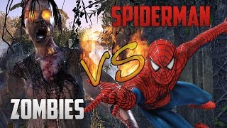 getlinkyoutube.com-Spiderman VS The Zombies - Grand Theft Auto 4