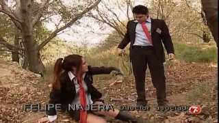 getlinkyoutube.com-Rodrigo intenta abusar de Roberta; Diego logra rescatarla