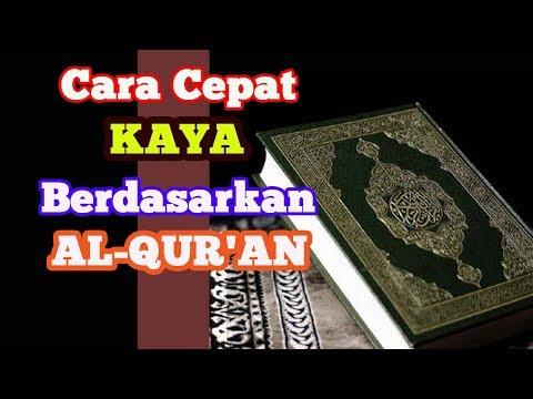 Cara Cepat Kaya Dengan Al Quran