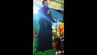 الرادود الحسيني مؤيد البغدادي  موكب الحسين سفينة النجاة   العاشر من محرم 2015