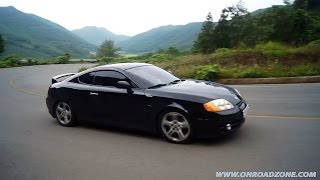 getlinkyoutube.com-HYUNDAI COUPE V6 2.7 / TUSCANI & TIBURON V6 2.7 (현대자동차 투스카니 엘리사)