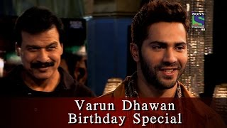 getlinkyoutube.com-Varun Dhawan Birthday Special | CID