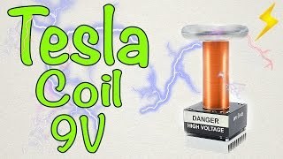 getlinkyoutube.com-How to make a mini Tesla coil 9V