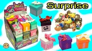 getlinkyoutube.com-Full Box Gift Ems Mini Dolls Present Surprise Blind Bags Visit My Little Pony Apple Jack