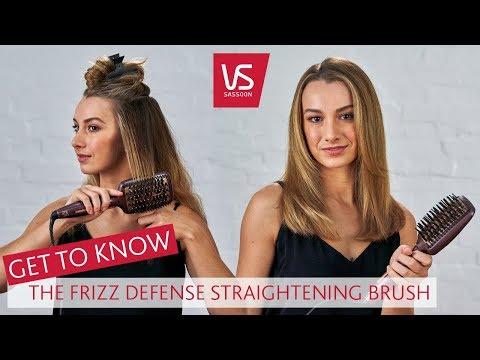 VS Sassoon Frizz Defense Straightening Brush