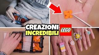 getlinkyoutube.com-COME FARE CREAZIONI INCREDIBILI LEGO con il trucco Flexo