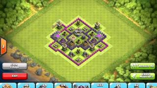 getlinkyoutube.com-Clash of Clans - town hall 7 farming base (speed build)
