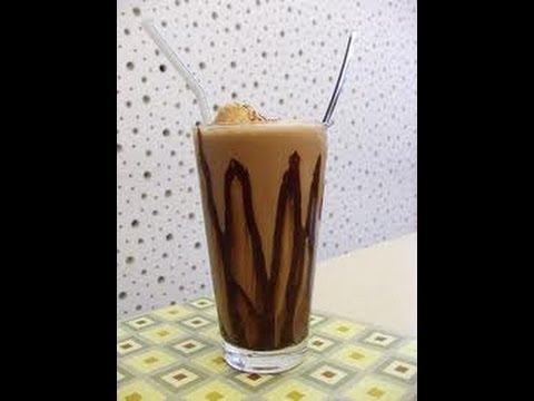 batido de chocolate (milk shake)