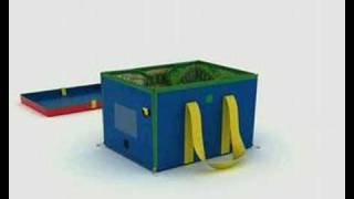 Zip Bin Road & Rail Toy Box Animation by Neat-oh