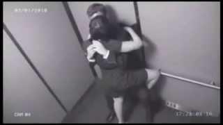getlinkyoutube.com-очень очень интересные моменты в лифте very very interesting moments in the lift