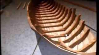 getlinkyoutube.com-construção barco rabelo / construction of rabelo boat