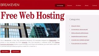 getlinkyoutube.com-How to Get Free Web Hosting and Sub Domain name (Live Example with Website Upload)
