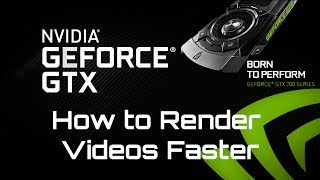 Faster Rendering Using the Nvidia Cuda Toolkit