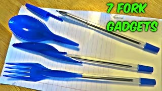 7 Fork Gadgets Put to the Test