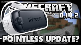 getlinkyoutube.com-Minecraft PE 0.14.2 Virtual Reality Update - Pointless Update? (Download)