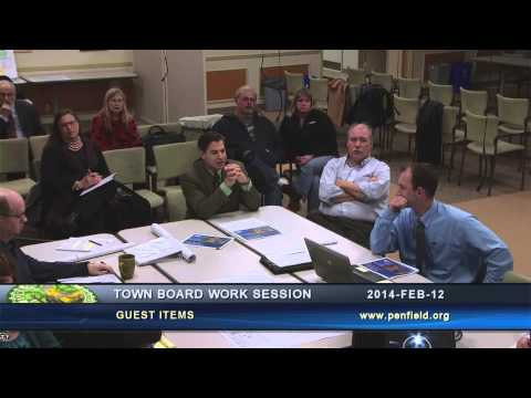 2014-02-12 PEN Town Brd Work Session