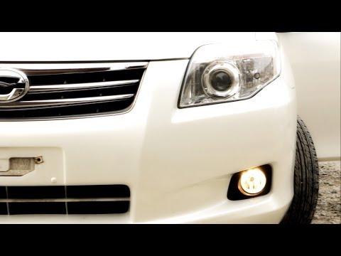 Противотуманные фары на Toyota Corolla