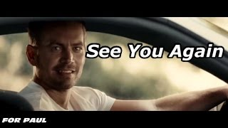 【Fast & Furious7】See You Again   [Wiz-Khalifa]  〜ポールに捧ぐ〜