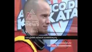 getlinkyoutube.com-Iain Hume (Atletico de Kolkata) greets Kerala Blasters players  : Asianet News Exclusive  ISL News