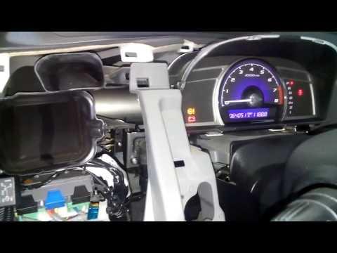 Civic 4D датчик отключения топлива