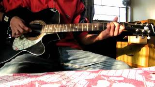 Pal Mein Hi (HD 720p) - Chance Pe Dance - Acoustic Guitar cover by