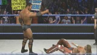 getlinkyoutube.com-The Rock vs. Shawn Michaels (WWE Smackdown vs. Raw 2010) SvR2010