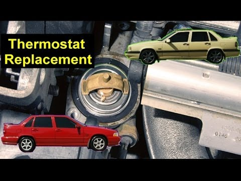 How to replace the thermostat in the Volvo 850, S70, V70, V70 XC, etc. - VOTD