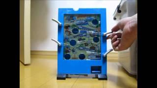 getlinkyoutube.com-駄菓子屋ゲーム貯金箱で感動のゴール Japanese Portable Medal Game