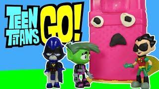 "getlinkyoutube.com-TEEN TITANS GO! Parody ""Bed Calling"" Sleep Overs Are The Best a Teen Titans Go Toy Video"