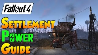 getlinkyoutube.com-Fallout 4 Settlement Guide - Settlement Power Guide