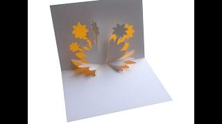 getlinkyoutube.com-Flowers Pop Up Card Tutorial - Origamic Architecture