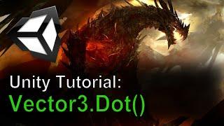 getlinkyoutube.com-Unity Tutorial: Vector3.Dot