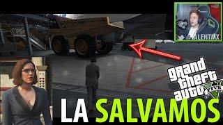 SALVAMOS A MOLLY DE LA TURBINA!!   Rompiendo GTA V #4   Le ganamos a Rockstar