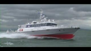 getlinkyoutube.com-漁業取締船「天龍」 -高速航行-