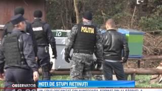 getlinkyoutube.com-Hotii de stupi au fost retinuti de politisti