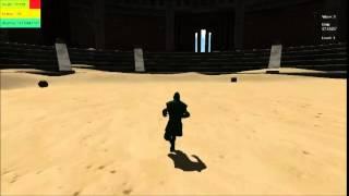 getlinkyoutube.com-Avatar fighting game in unity
