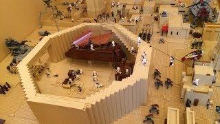 getlinkyoutube.com-Lego Star Wars Base Great Tatooine Mos Eisley Cantina MOC 75052