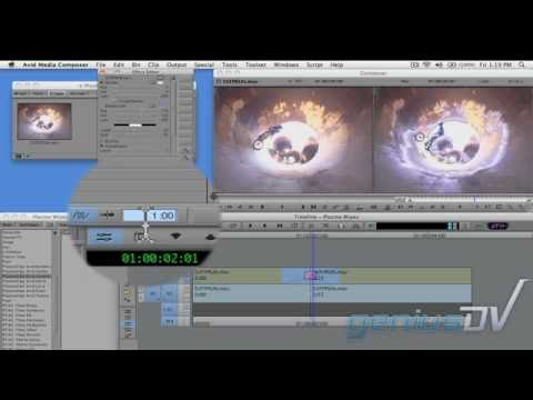 Plasma wipe effect with Avid Media Composer