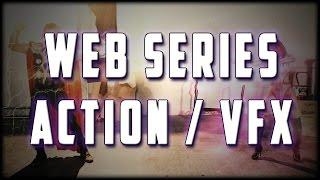 getlinkyoutube.com-Superheroine Web Series Fight & VFX Demo