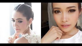 getlinkyoutube.com-แต่งหน้าเจ้าสาวตามคุณชมพู่ อารยา | Bridal Makeup Inspired Araya