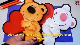 COMO HACER UNOS LINDOS OSITOS DE FOMI - HOW TO MAKE A LOVELY BEARS