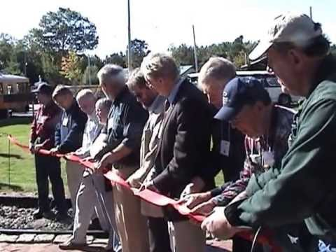 ASL-100 Electric Locomotive Ribbon cutting Ceremony 9-25-2009