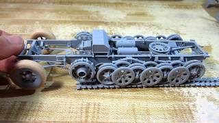 getlinkyoutube.com-Building Dragon Sd.Kfz.7 Eight Ton Half-Track In 1/35 Scale Complete
