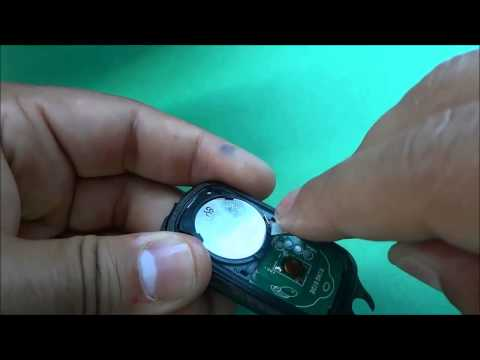 How To Replace A Toyota Echo Key Fob Battery (2000-2005)
