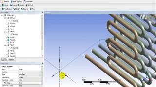 getlinkyoutube.com-Ansys 14 Geometry Heat exchanger