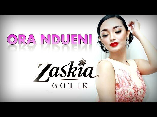 ORA NDUENI - ZASKIA GOTIK karaoke dangdut (Tanpa vokal) cover