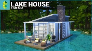 getlinkyoutube.com-The Sims 4 House Building - Lake House (Tiny 4x6 Grid)