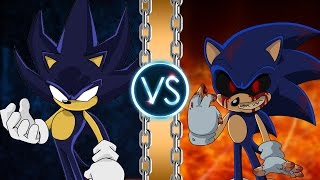 getlinkyoutube.com-Dark Sonic vs Sonic.Exe