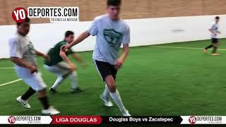 Douglas Boys vs. Zacatepec Liga Douglas