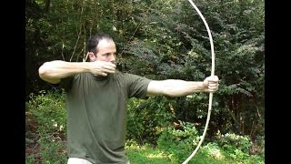 getlinkyoutube.com-Making a Primitive Bow, Part 1.
